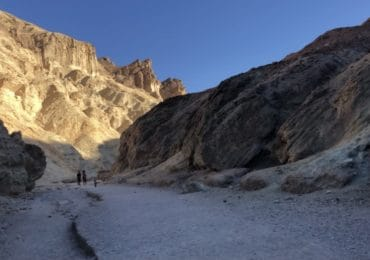 Golden Canyon hike in Death Valley